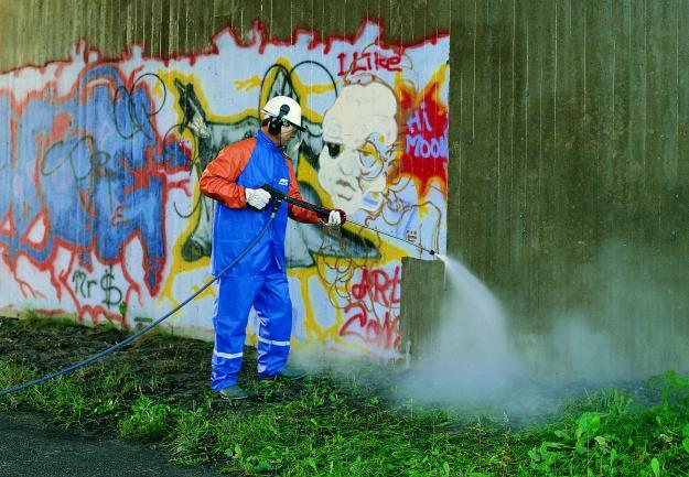 Sposób na zmycie graffiti